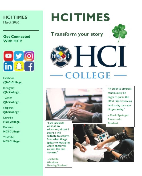 HCI Times March 2020
