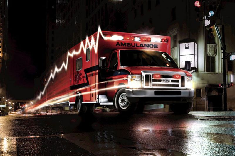 New Ambulance Lights Designed to Decrease Distracted Driving