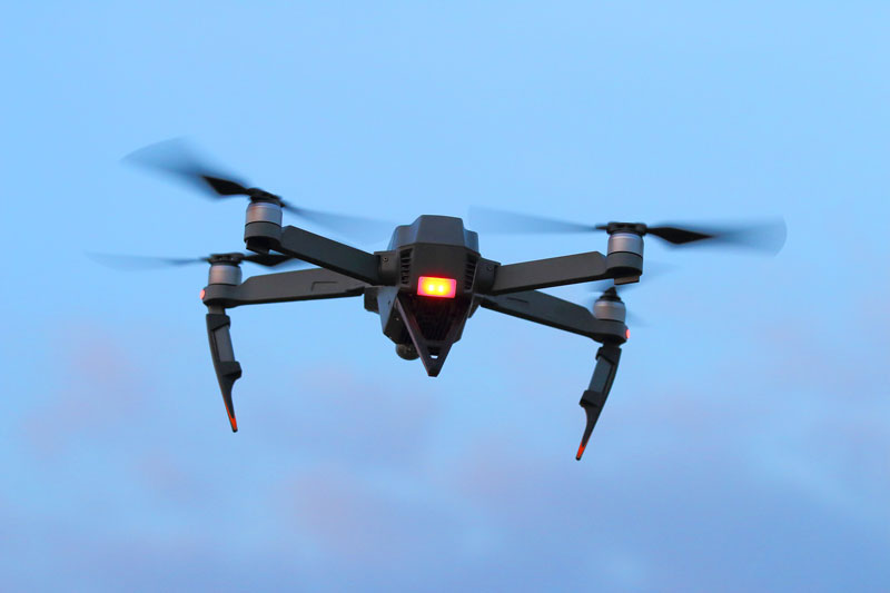 Firefighters and Drone Safety