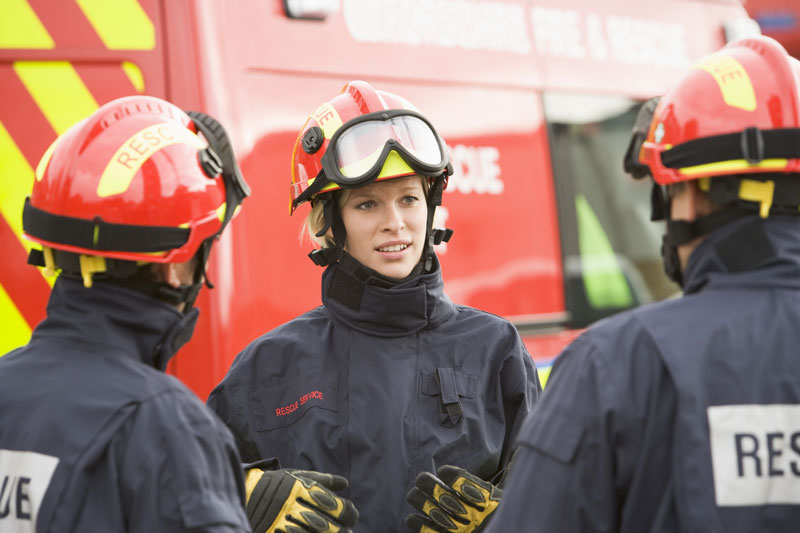 Florida Fire Department Hires First Female Career Firefighter